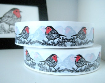 Animal Ribbon Sticky Tape - Robin, Penguin or Bunny