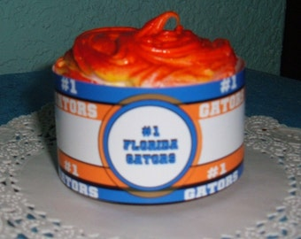 Gators wraparound cupcake wrapper set of 12