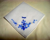 Wedding Handkerchief - Special handkerchief - monogram or name and date only