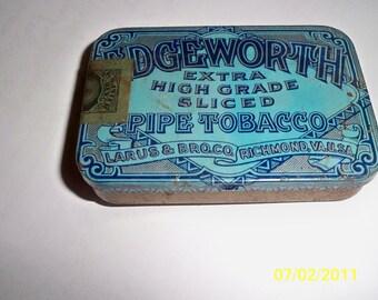 1910's Edgeworth Tin / Tobacco tin