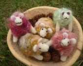 Wooly Lamb needle felted in pure wool
