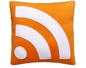 RSS Feed Pillow