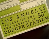 Los Angeles Year You Were Born - 2012 Letterpress Card