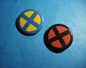 Xavier's School for Gifted Youngsters Pinback Button Set (or Magnets)