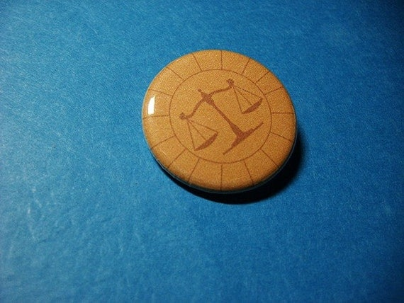 Attorney Badge from Phoenix Wright Pinback Button