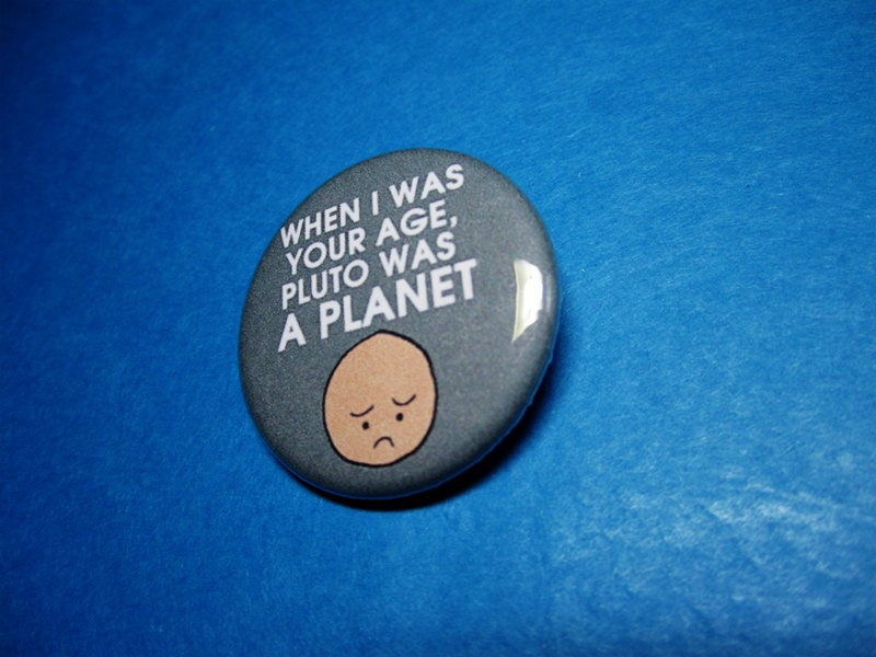 sad sad planet pluto birthday - photo #40