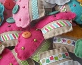 BULK BUY twelve handmade felt CUPCAKE mini softies