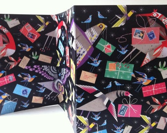concertina greeting card
