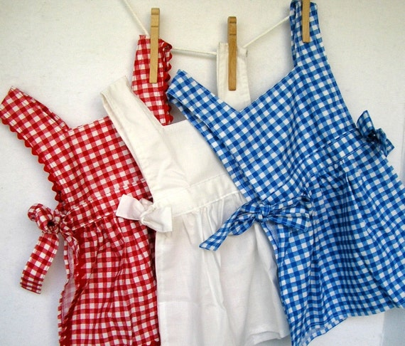 Pick a  Pinafore- Toddler Apron Pinafore in Several Colors
