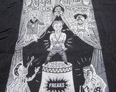 Jim Rose Circue Sideshow 1992 Eyeball Terrorist Tour Concert Shirt XL