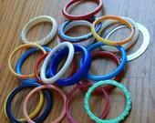 lot of vintage bangles