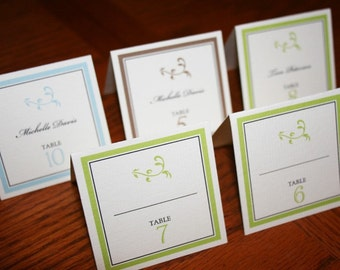 Place Cards, Seating Cards Escort Cards - Elegant Place Cards - Simple and Elegant Place Cards - Set of 50