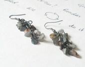 A Bunch of little Stones Beautiful Earrings
