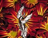 Pewter Phoenix Pendant