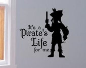 Pirate Life - Yo Ho Yo Ho vinyl wall decal sticker wall art graphic