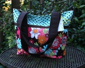 TOTE - Michael Miller's Peace Flowers