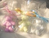 25 Teddy Bear Soap Baby Shower Favors