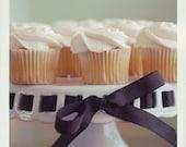 Food Photography, Cupcake Photo, Mini Cakes 5x5 print, Kitchen Art, Whimsical Retro Photo