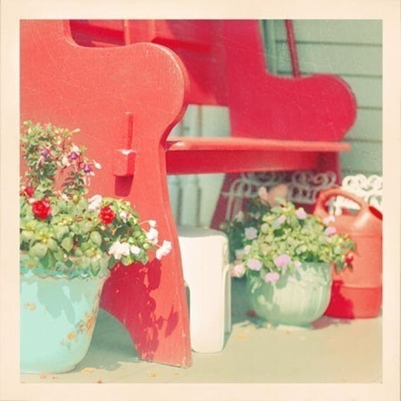Half Off Sale Summer Porch - 5x5 Original Signed Fine Art Photograph