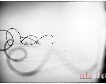 string no. 9286: 11x14 Black & White Limited edition photograph