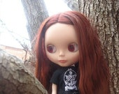 Embroidered Twilight New Moon Cullen Crest Tee Shirt for Blythe