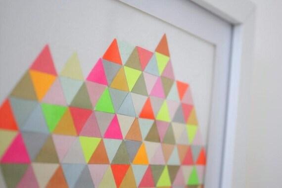 Tri Art -  4x6 in 'Mountain'