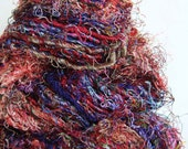 Recycled Sari Silk Yarn - 105 gm