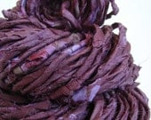 Hand Spun Art Yarn - SANDHYA - 69 yds - 115 gm