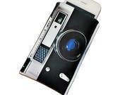 iPhone 3G/4G/4S Case Retro Camera Sleeve, Fits iPhone 3/3GS/4/4S or customize to fit iPod