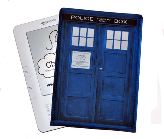 Kindle Case / Kindle 2 Case /Nook Color / Kobo Case / British Police Box UK
