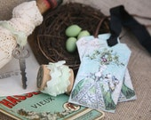 Tattered Bundle No 215 Marie Antoinette Easter Collection