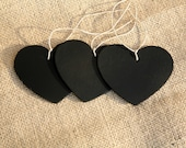 Heart Chalkboard Hang Tags