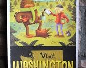 11x17 Washington State Tourism Print