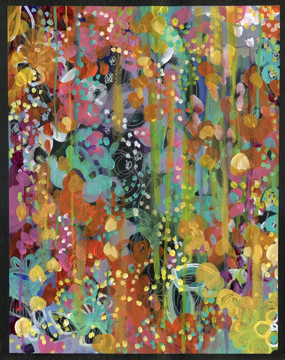 Penny Lane - Colorful Abstract PRINT
