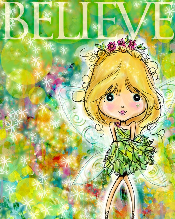 BELIEVE like Tink - PRINT