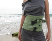 OBI BELT new fabrics and colors - denim and cotton FREE SHIPPING