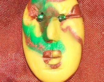 Polymer Face Cabochon