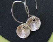 Tiny Dot Earrings in Sterling Silver