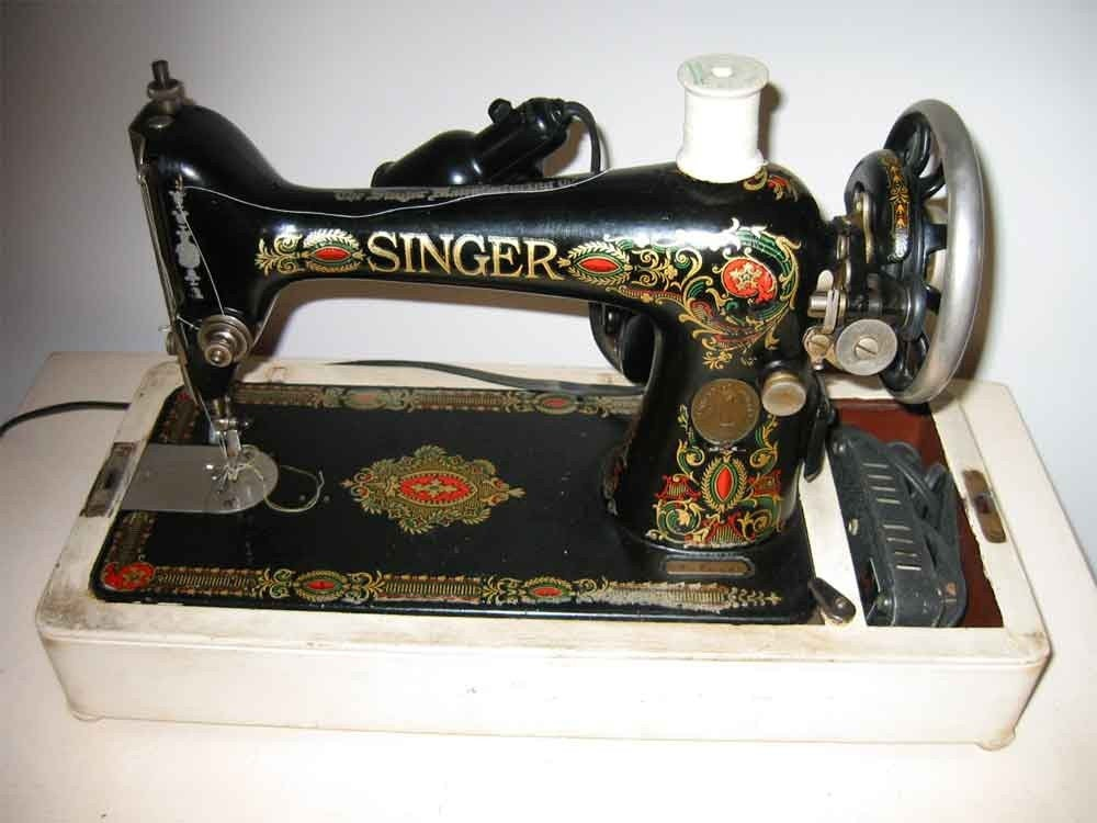 Antique Singer Sewing Machine Portable By Finishwell On Etsy