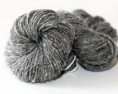 Silver Mine - Sparkly Hand Spun Wool