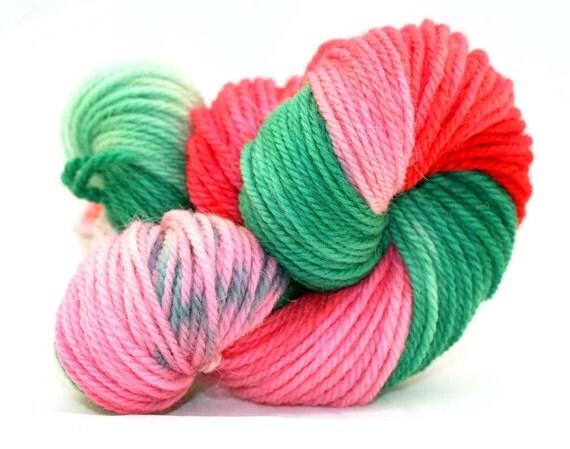 Watermelon - Hand Dyed Yarn