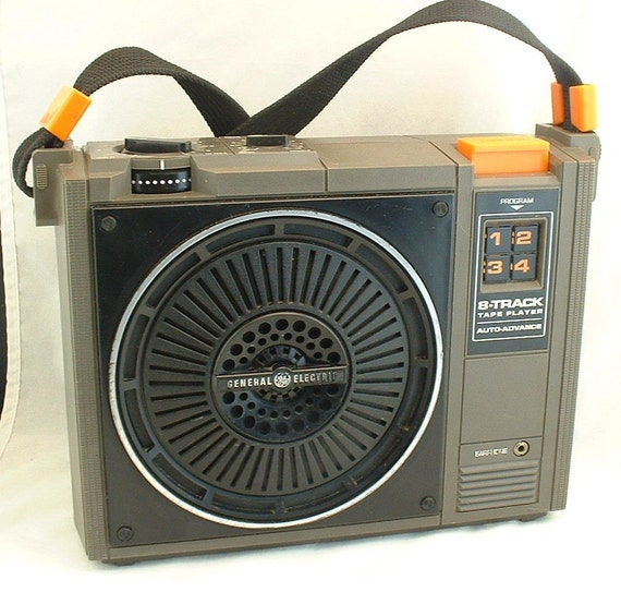 Inside Of A 8 Track Tape: VINTAGE 8 TRACK TAPE PLAYER General Electric Model No