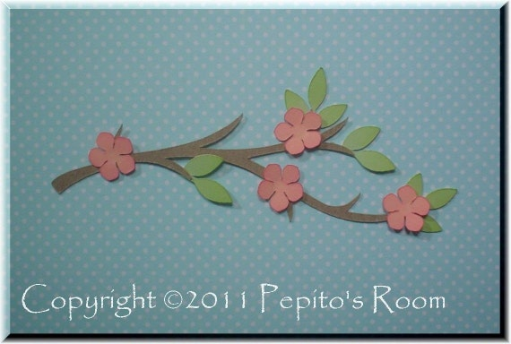 PRA Spring Blossoms Accent SVG files - Scrapbooking, Card making, 3D Projects - PR