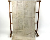 Antique 1930s Industrial Wisconsin Malting Co Linen Feed Sack