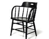 Vintage Captain's Chair, Bentwood Pub Armchair