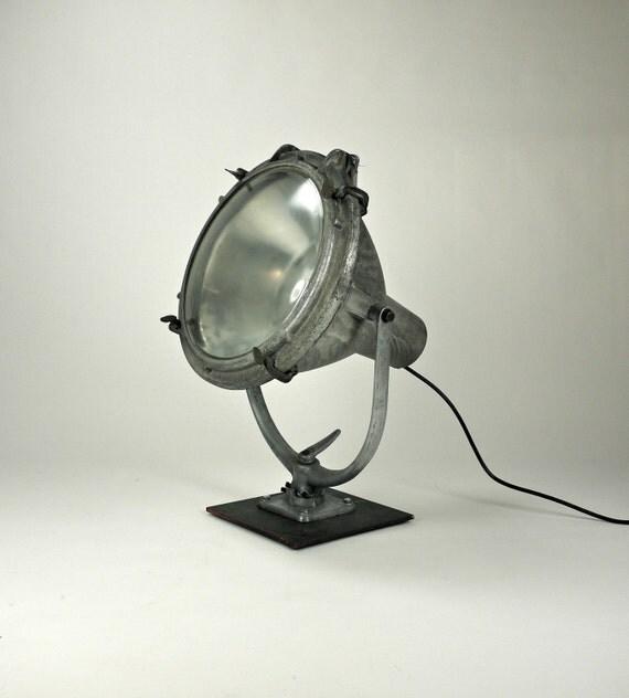Vintage Stadium Lights: Items Similar To Vintage Industrial Crouse-Hinds Aluminum