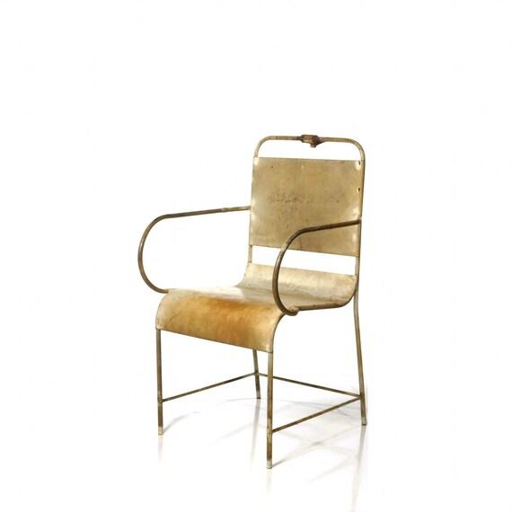 Antique Medical Chair, 1920's A.S. Aloe & Co. Examining Armchair