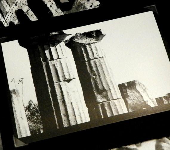 Columns at Pompeii Original Photo Notecard