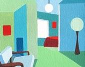 SPAIN SERIES, the green room - print
