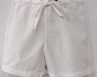 SOLUNA cotton mini shorts
